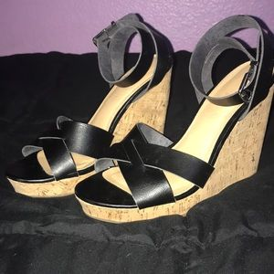 Sexy wedge sandals